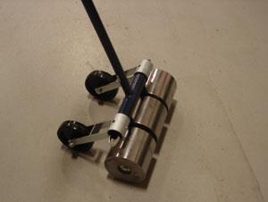Linoleum roller 100lb w whls rentals oak grove mo where for 100 lb floor roller rental