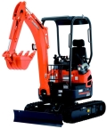 Where to rent EXCAVATOR, KUBOTA U17 or NH E18B in Oak Grove MO