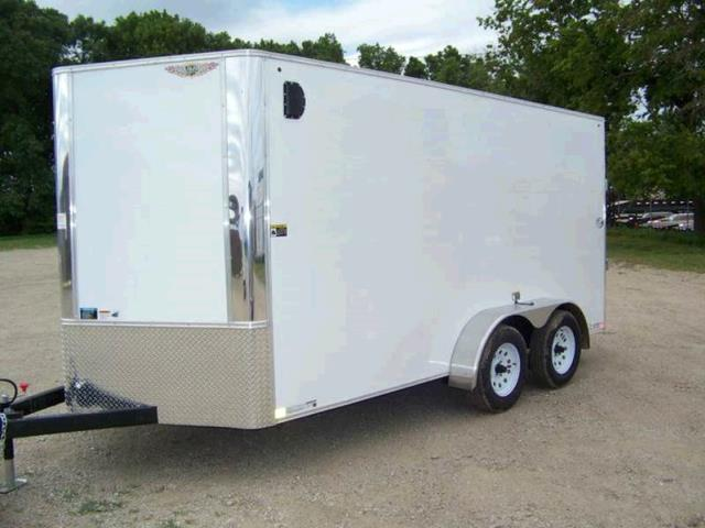 Where to find TRAILER, 6 X 12 ENCLOSED V-NOSE in Oak Grove