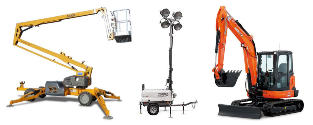 Equipment Rentals in Eastern Jackson County